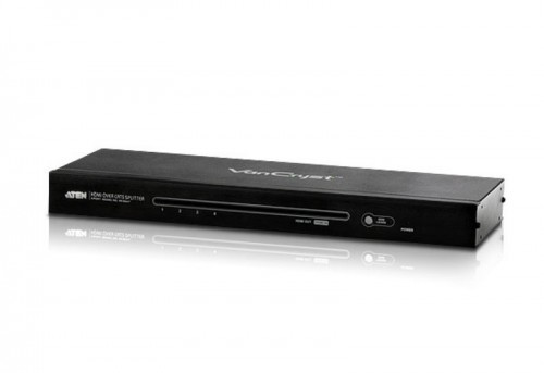 VS1804T ATEN VanCryst 4 Port HDMI Video Splitter Over Cat5 - up to 40m at 1080p/60m max at 1080i