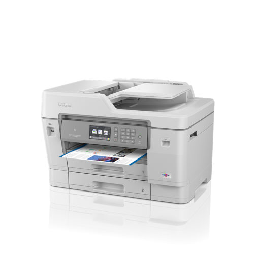 MFC-J6945DW Brother MFC-J6945DW Colour Multifunction Inkjet Printer With Fax - A3, 22ppm, Duplex Printing & Scanning, Wireless & Wired Network, Wi-Fi Direct, USB, 4-Ink System, Input Capacity: 500 Sheets, 50-Sheet ADF, 4800 x 1200dpi, Grey, 3 Years Warranty