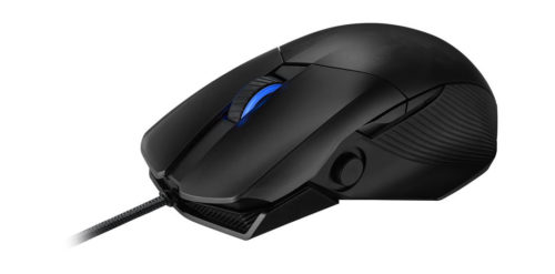 ROG CHAKRAM CORE ASUS ROG CHAKRAM CORE Gaming Mouse 16000dpi USB2.0, Programmable Joystick, Adjustable Weight, Mappable Stealth Button, Aura Sync Lighting