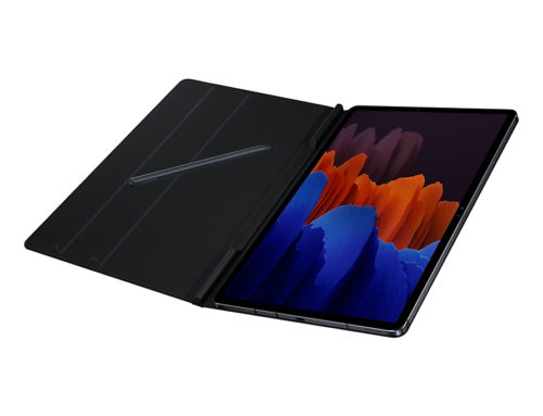 EF-BT970PBEGWW Samsung GALAXY TAB S7+ 12.4 BOOK COVER BLACK - Simply Adjust The Screen, Book Cover Folds Around And Clings Magnetically, Stylish As It Is Convenient