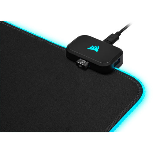 CH-9417070-WW Corsair MM700 RGB POLARIS - Dynamic Three Zone RGB and low friction micro-texture surfacet for Ultimate Gaming Setup.930mm x 400mm x 4mm Mousemat