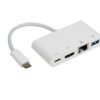 8WD-CUEFH01 8ware USB Type-C to USB 3.0, Gigabit Ehternet, HDMI And Type-C Charging Adapter