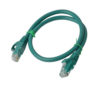 PL6A-0.25GRN 8ware Cat 6a UTP Ethernet Cable, Snagless - 0.25m (25cm) Green