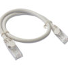 PL6A-0.25GRY 8ware Cat 6a UTP Ethernet Cable, Snagless - Grey 0.25M