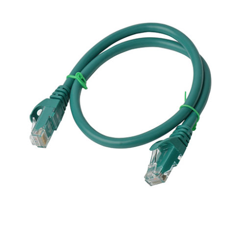 PL6A-0.5GRN 8ware Cat 6a UTP Ethernet Cable, Snagless - 0.5m (50cm) Green