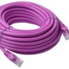 PL6A-10PUR 8ware Cat 6a UTP Ethernet Cable, Snagless - 10m Purple