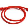 PL6A-1RD 8ware Cat 6a UTP Ethernet Cable, Snagless - 1m (100cm) Red
