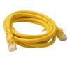 PL6A-2YEL 8ware Cat 6a UTP Ethernet Cable, Snagless - 2m Yellow