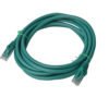 PL6A-3GRN 8ware Cat 6a UTP Ethernet Cable, Snagless - 3m Green