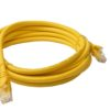 PL6A-3YEL 8ware Cat 6a UTP Ethernet Cable, Snagless - 3m Yellow