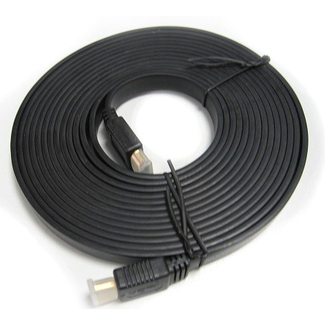RC-HDMIF-5 8ware High Speed HDMI Flat Cable Male-Male 5m