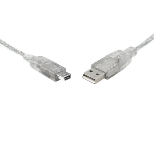 UC-2003ABN 8ware USB 2.0 Certified Cable A-B 5 Pin Mini 3m