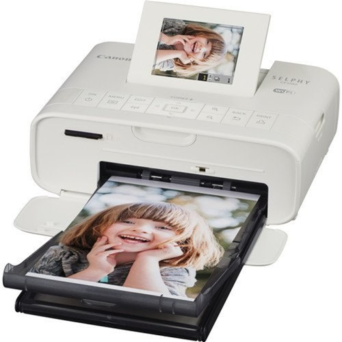 Canon White Dye-Sub Compact Photo Printer Wi-Fi With Direct Print