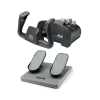 CH Products Aviator Pack For PC & Mac (Inc USB Yoke & Pro Pedals)