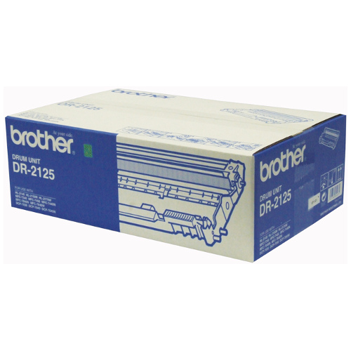 DR-2125 Brother DR2125 DRUM UNIT 12,000 YIELD FOR 2140, 2150, 2170 & 7840