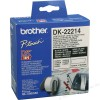 Brother WHITE CONTINUOUS PAPER ROLL 12MM X 30.48M