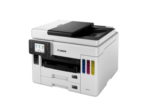 GX-7060 Canon MAXIFY GX7060 MegaTank Colour Multifunction Inkjet Printer With Fax - A4, 24ppm, Duplex Printing & Scanning, Wireless & Wired Network, USB, 4 Ink Tanks, Input Capacity: 2 x 250 Sheets, 50-Sheet ADF, 1200 x 600dpi, White/Black, 1 Year Warranty