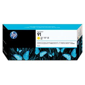 HP 91 Yellow Ink 775ml C9469A For DesignJet Z6100