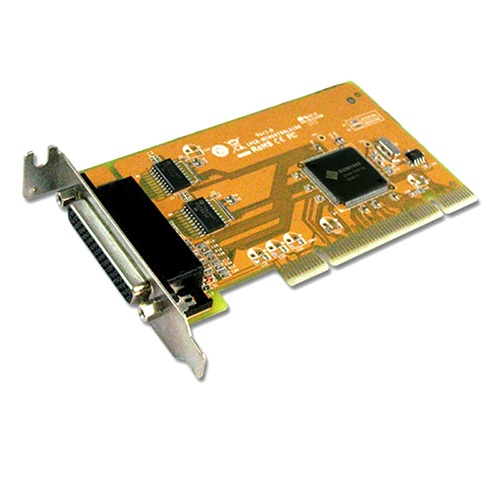 MIO5079AL SUNIX PCI 2-Port Serial RS-232 and 1-Port Parallel IEEE1284 Card - Low Profile