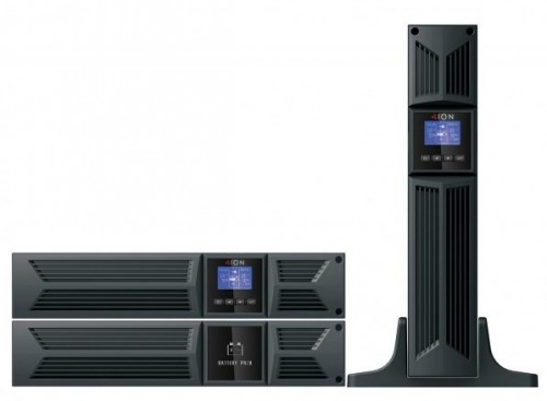 ION F18 Enterprise Class  2000VA  / 1800W - 2U Rack/Tower Online Double Convertible UPS, Output: 8 x IEC C13, 3 Years Advanced Replacement Warranty