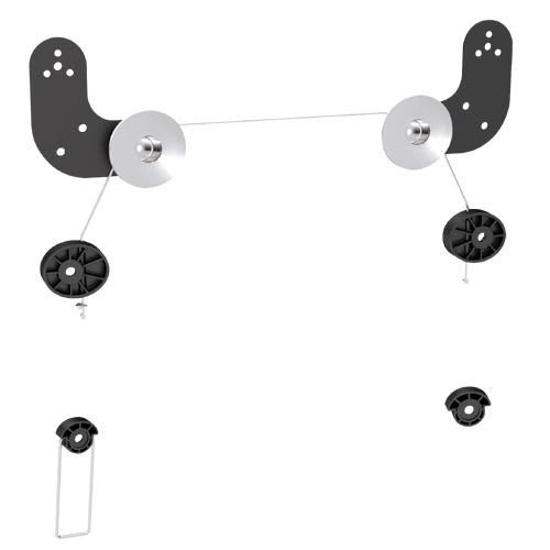 """LED-06 Brateck Ultra Slim Wall Mount for LED And Thin LCD Screen Size 23"""" - 60"""""""