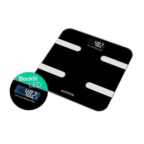 """MB-SCAL-BT01 mbeat """"actiVIVA"""" Bluetooth BMI and Body Fat Smart Scale with Smartphone APP"""