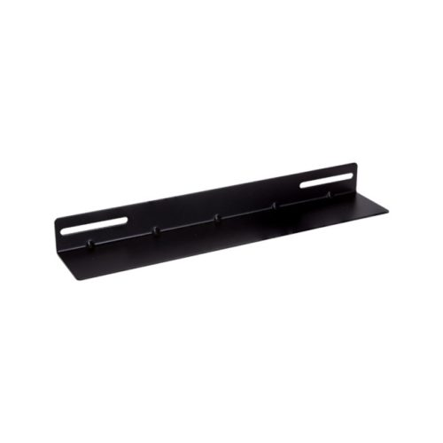 """CFA60-1.2-A Linkbasic 19"""" L Rail for 600mm Deep Cabinet only - Black"""