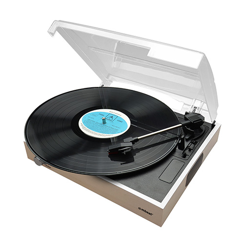 MB-USBTR68 mbeat Wooden Style USB Turntable Recorder