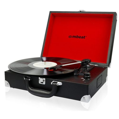 USB-TR88 mbeat Retro Briefcase-styled USB Turntable Recorder