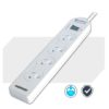PAD-131P Unbranded 4-Way Power Board (131P) with Master Switch