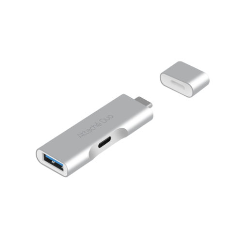MB-UTC-02 mbeat Attache Duo Type-C To USB 3.1 Adapter With Type-C Port