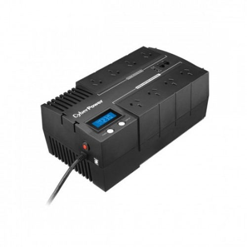 CyberPower BRIC-LCD 700VA/420W (10A) Line Interactive UPS - (BR700ELCD)-2 Yrs Adv.. Replacement incl. Int. Batteries