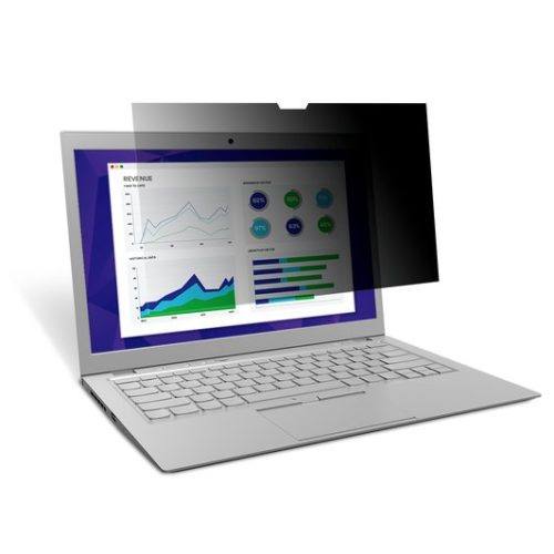 """98044066862 3M PF15.6W Privacy Filter for Edge-to-Edge 15.6"""" Widescreen Laptop (16:9) - Comply"""