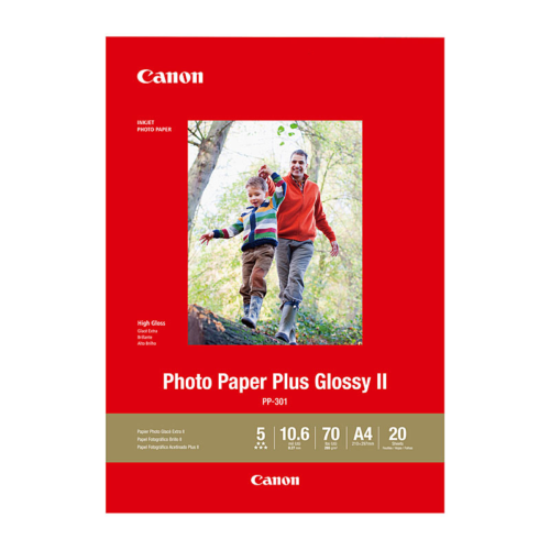 PP301A4-20 Canon A4 Photo Plus Glossy 20p